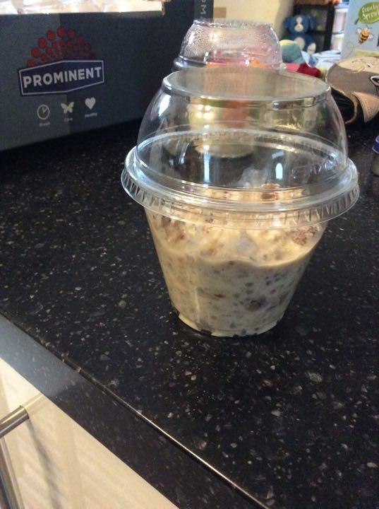 Raisin porridge
