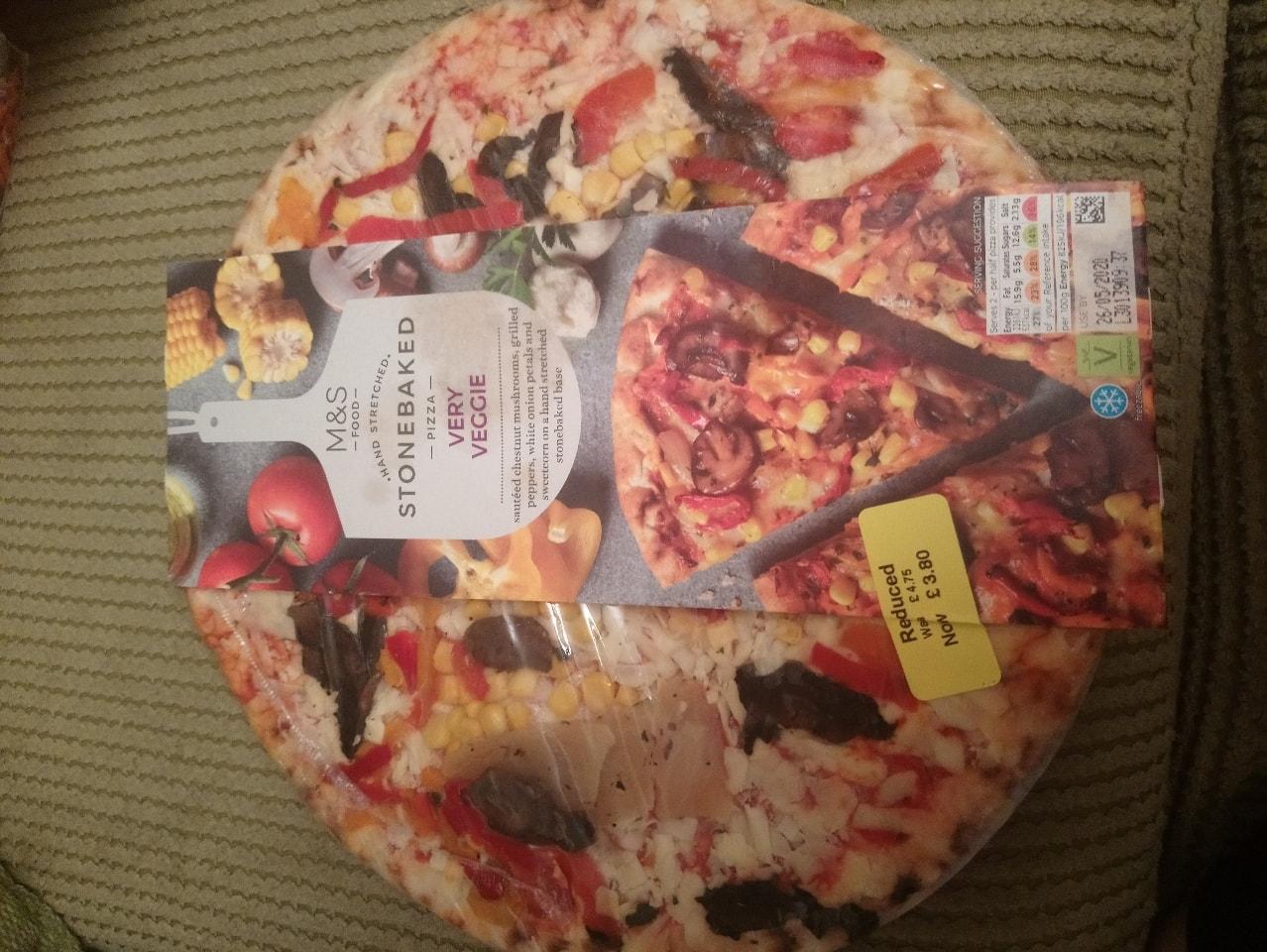 Very veggie pizza