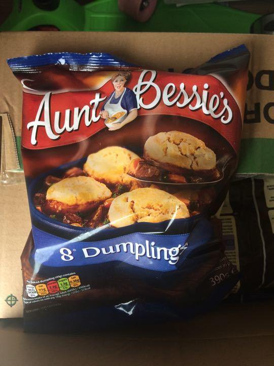 Dumplings - frozen ( lots available )