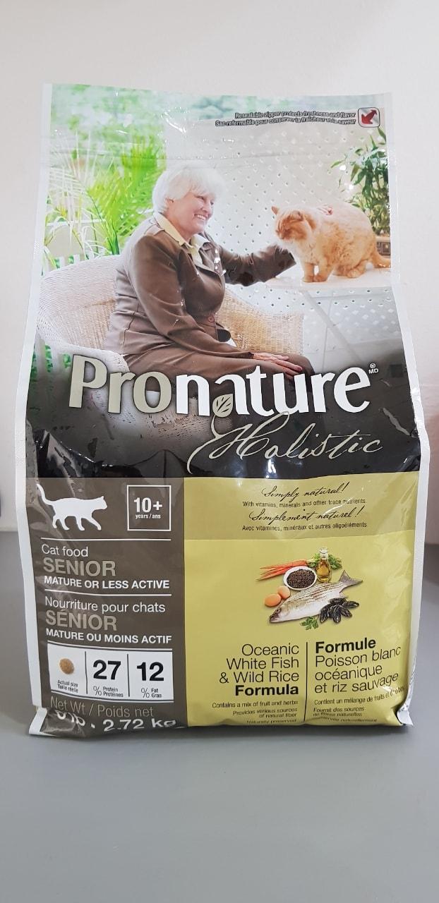 Expired Cat food - Pronature Holistic senior cat food