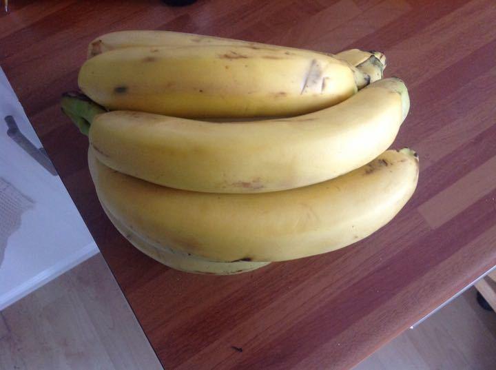 Loose bananas from Alliance Tesco