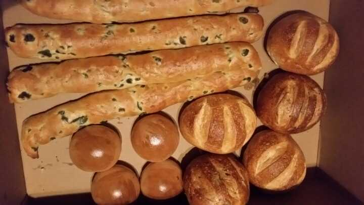 Olive bread and buns