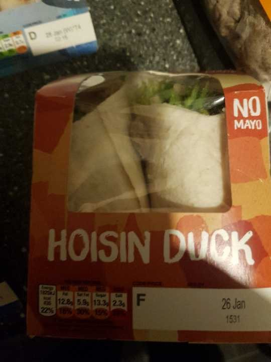 X2 hoisin duck