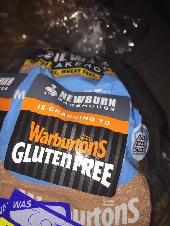 Warburtons gluten free loaf