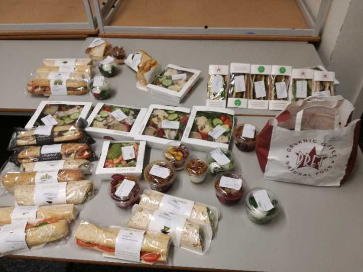 PRET SANDWICHES AND BAGUETTES AND MORE!