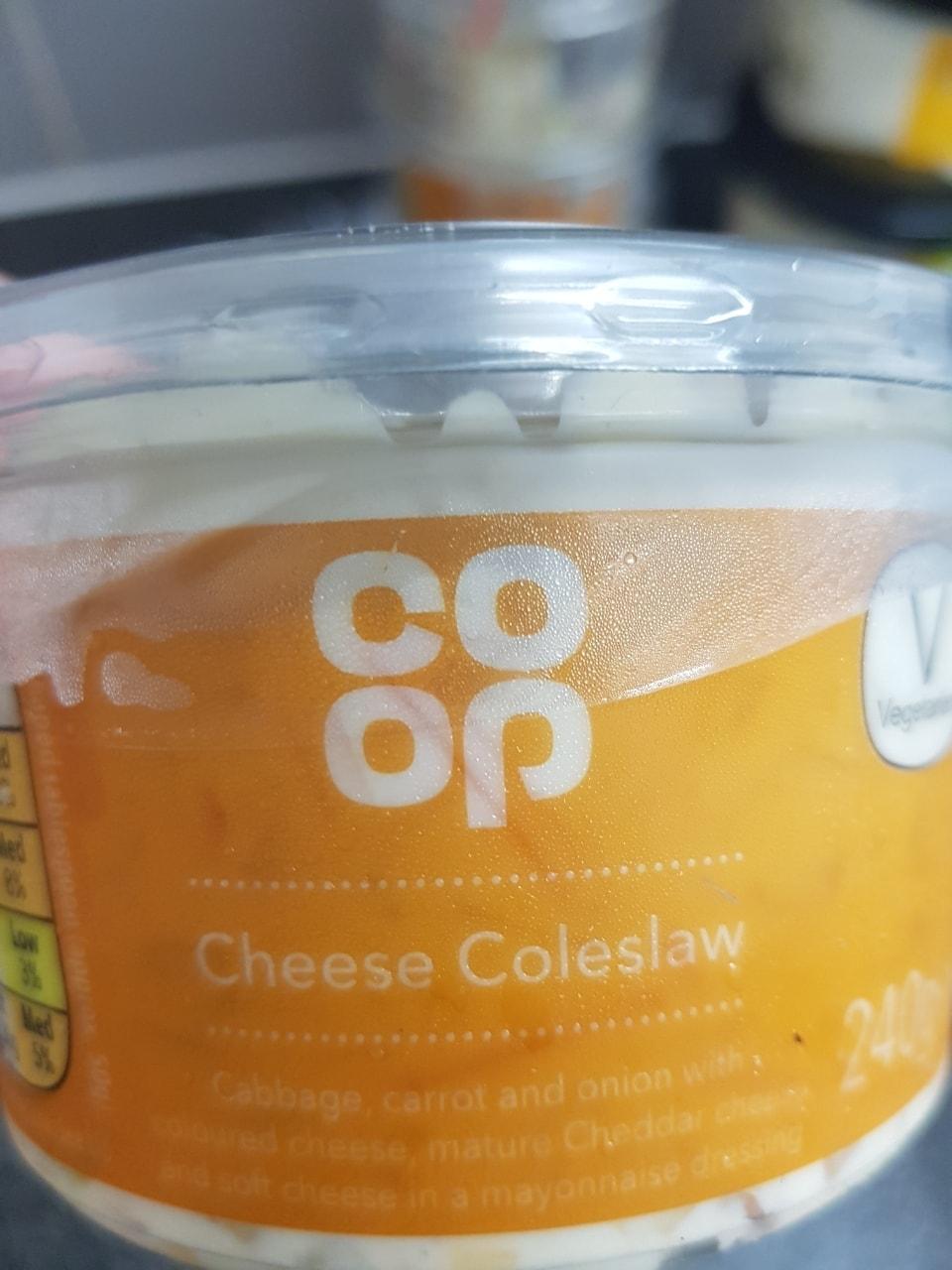 Cheese coleslaw