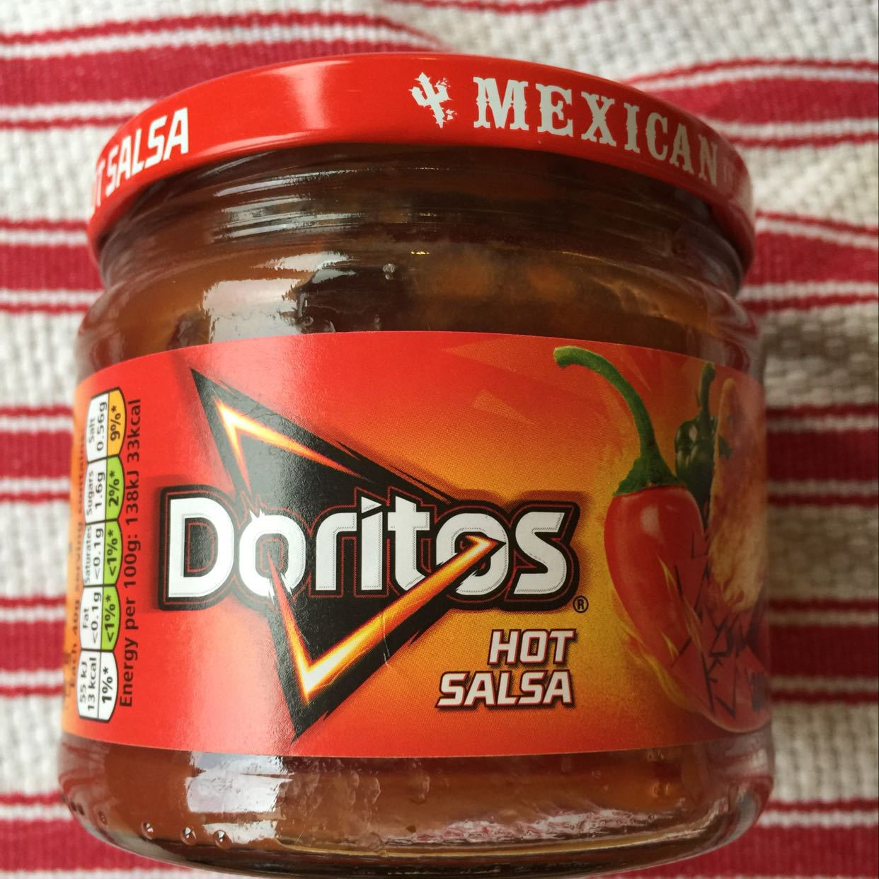 Doritos hot salsa Unopened