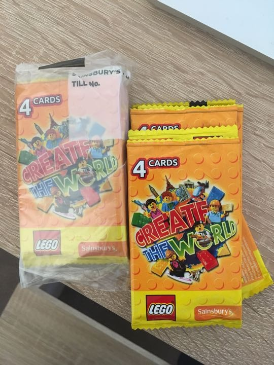 Old LEGO cards