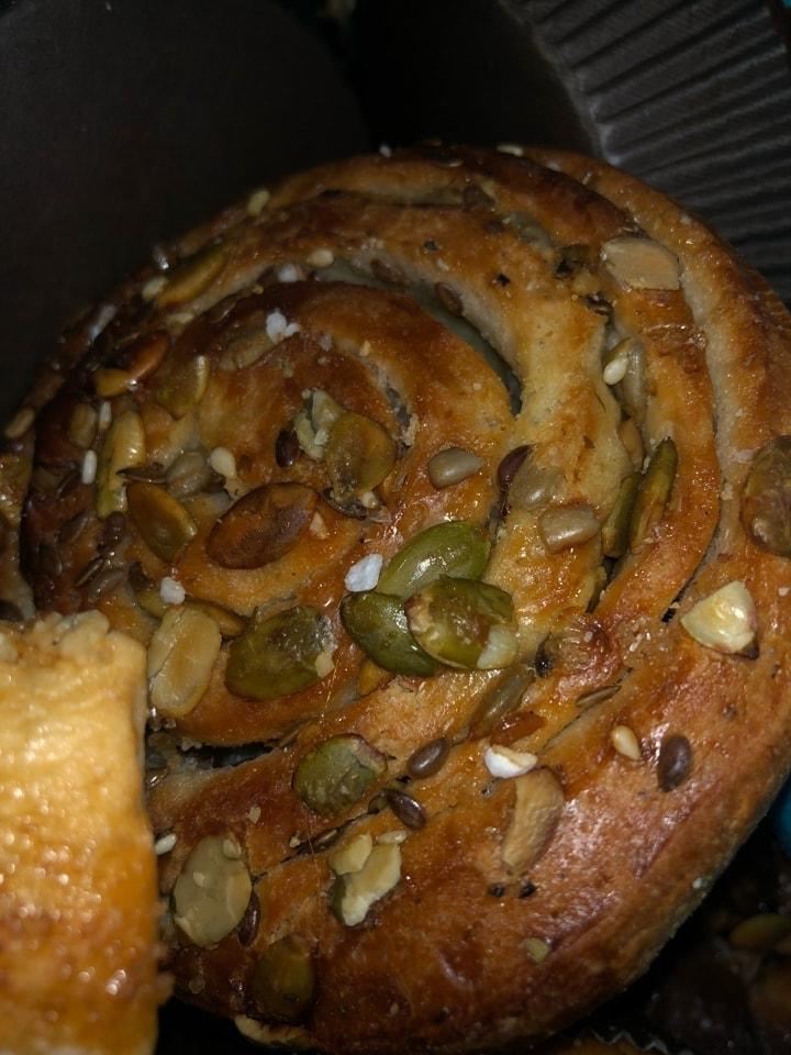 2x Sweet seed bun from Brunkebergs bageri 14/2
