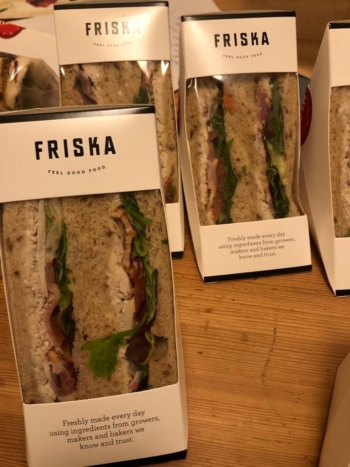 Friska Chicken Cesar sandwiches x 2