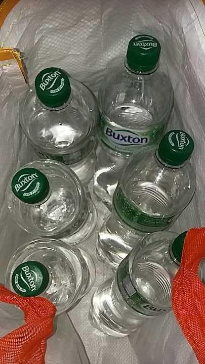 1L bottles of sparkling water
