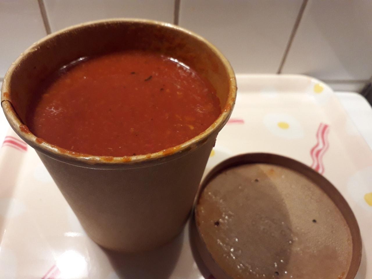 Lentils soup from Caffè Nero 24/8