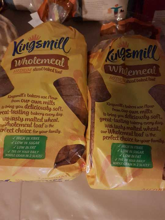 Kingsmill wholemeal small