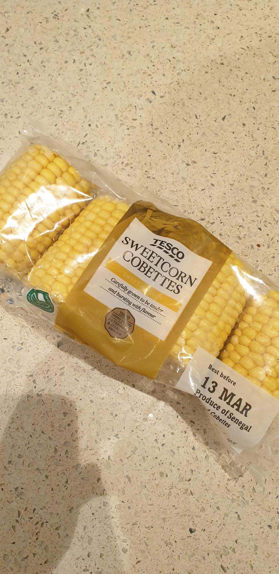 Sweetcorn (tesco rescue)