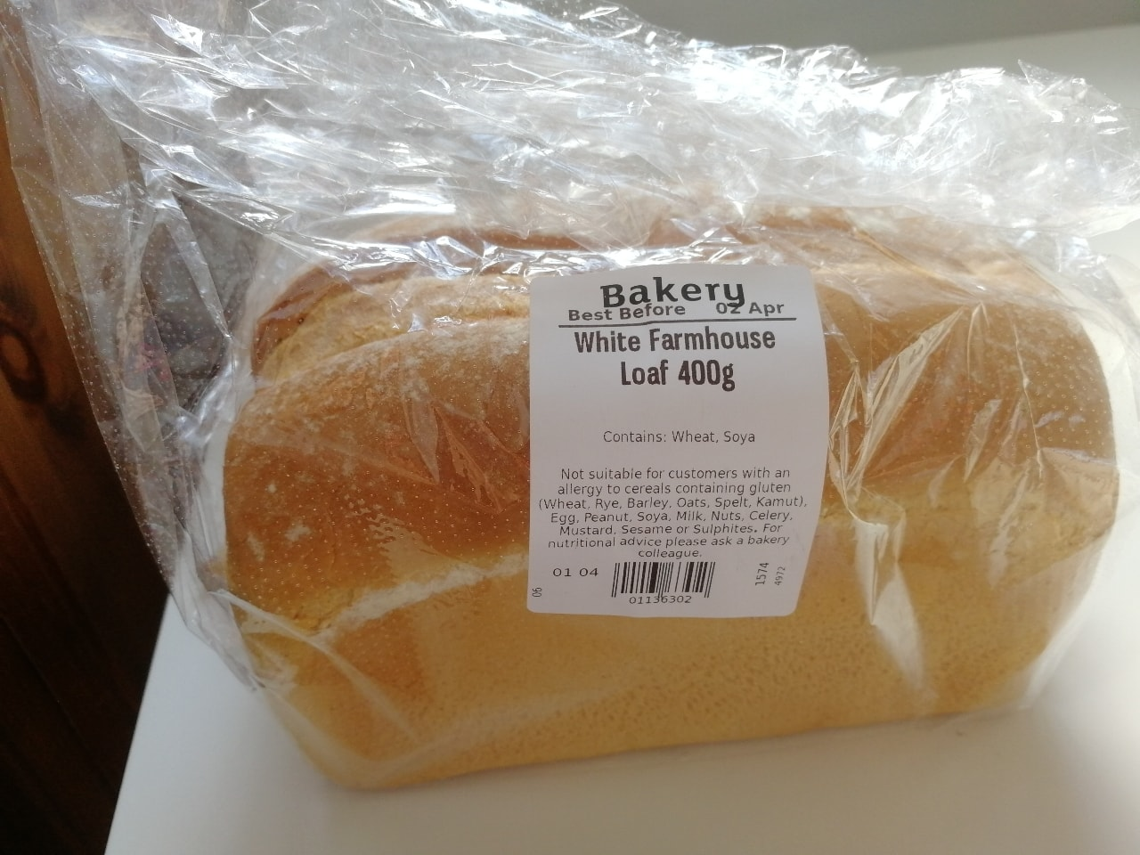 White Farmhouse Loaf 400g