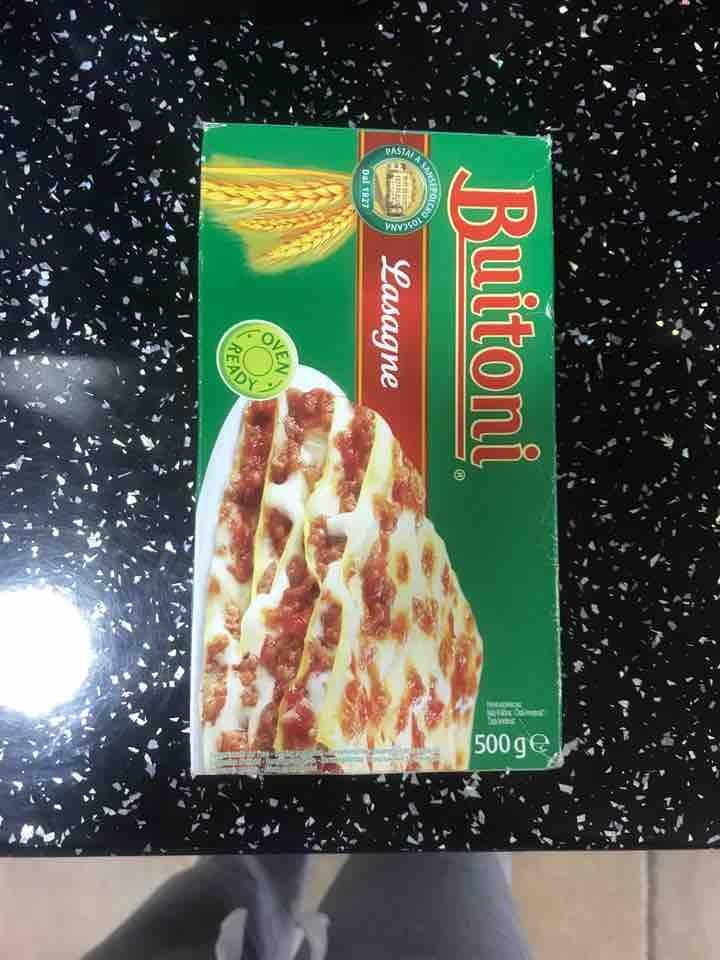 Lasagne sheets