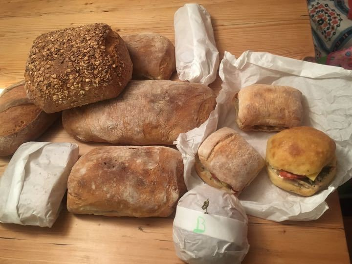 Bread and sandwiches