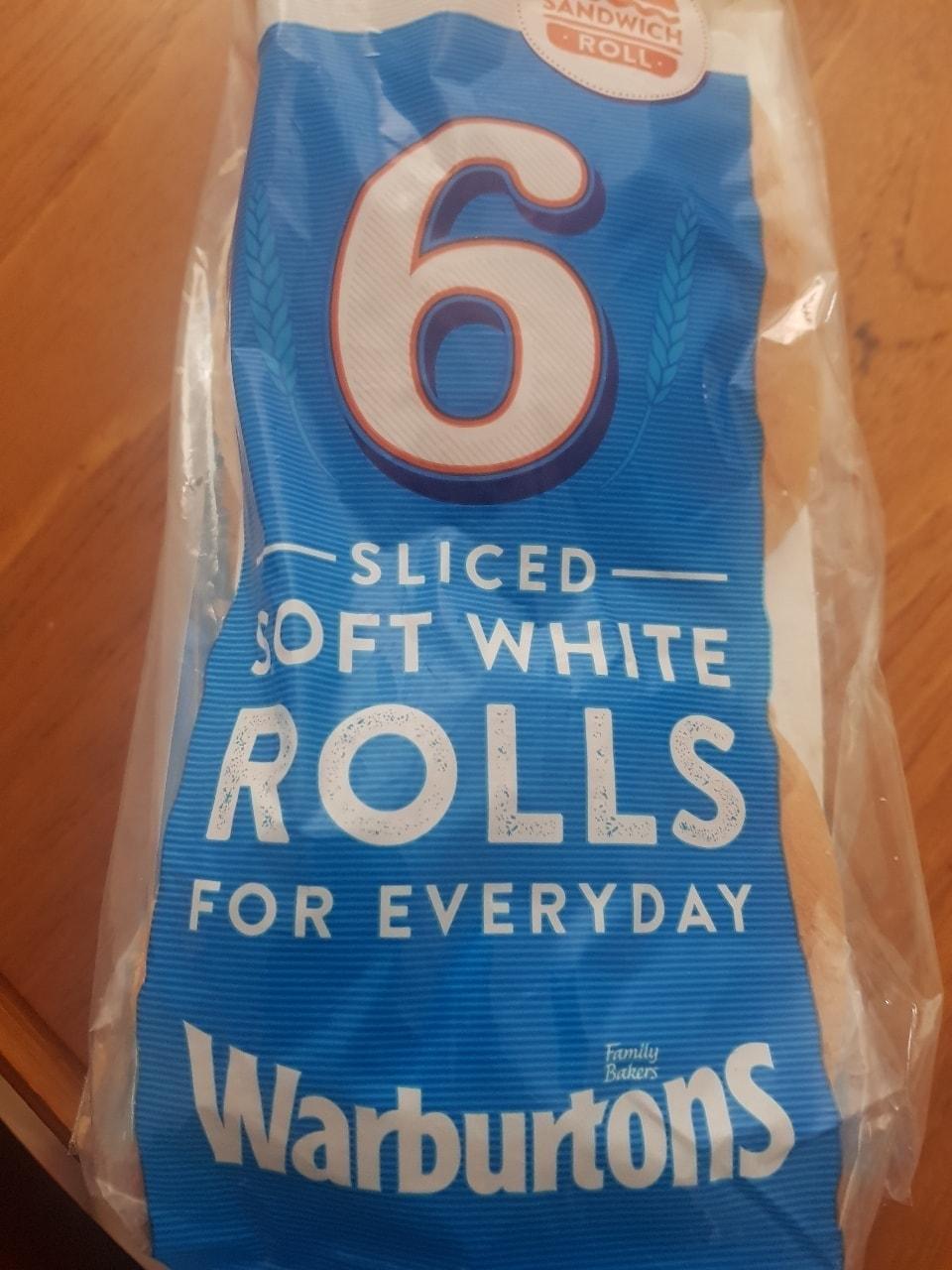 6x warburton rolls