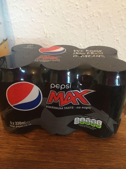 Pepsi Maxx