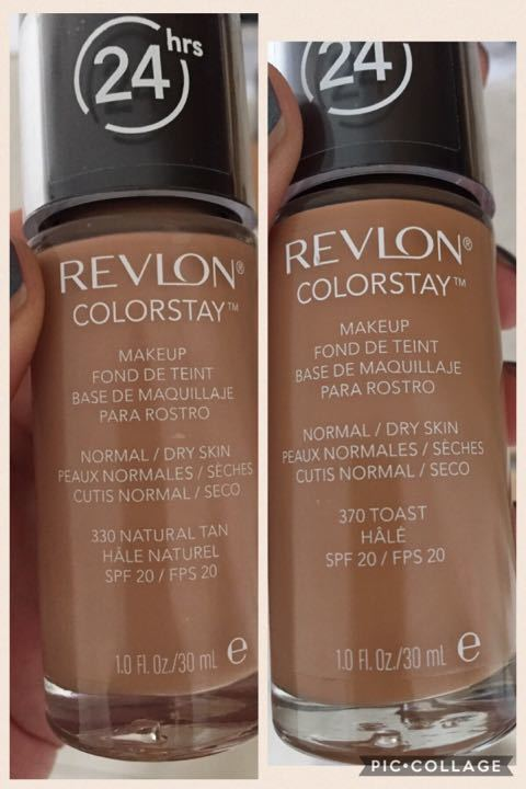 Revlon foundation x2 new unopened
