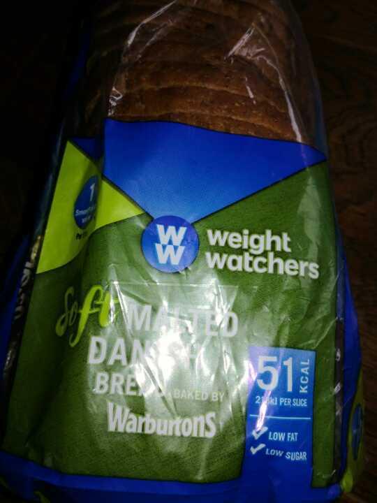 Weight watchers Danish bread