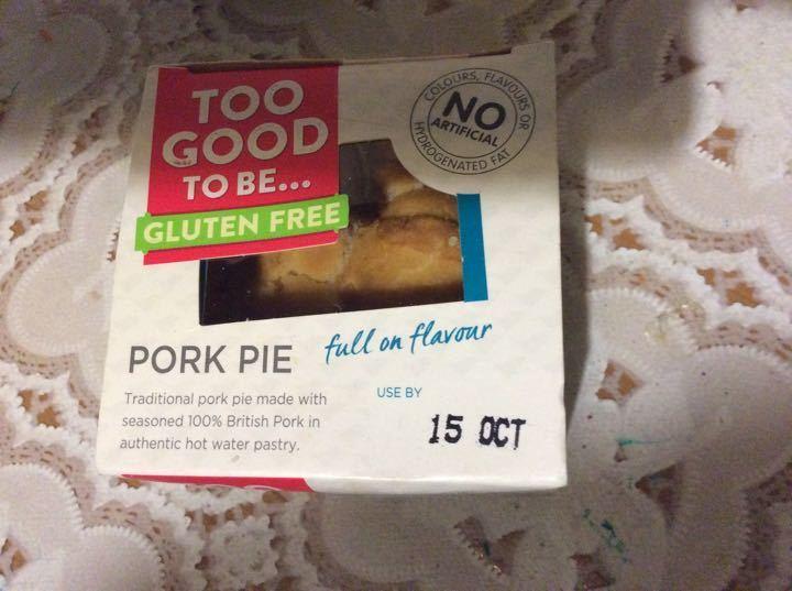 Gluten free Pork pie
