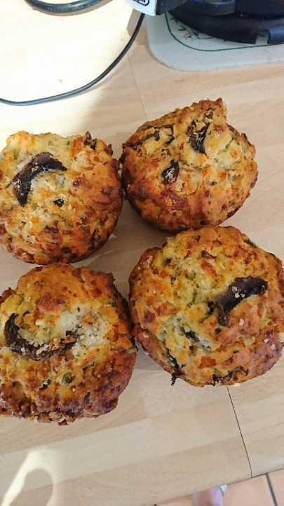 Savory muffins x4