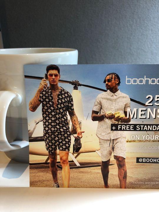 25% off menswear from boohooman.com