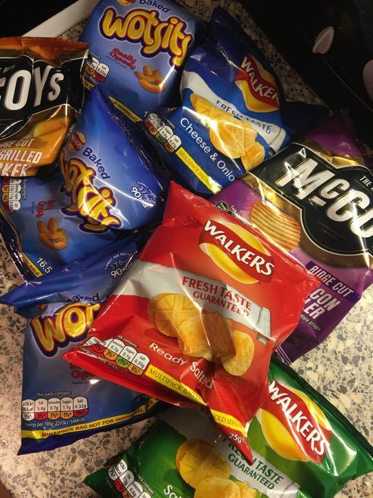 Mixed small chips