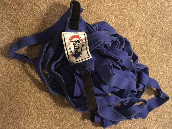 Old Fairtex Boxing wraps
