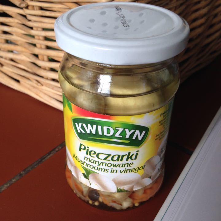 Pickled Mushrooms (going...going...)