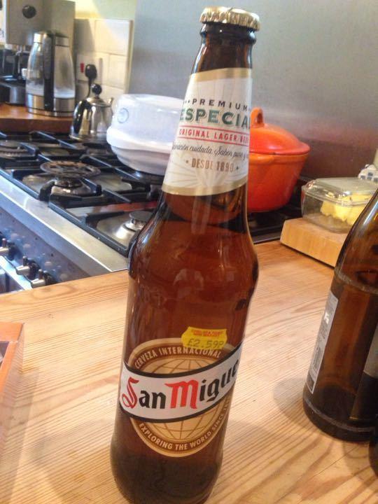 660ml San Miguel beer
