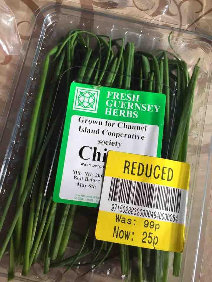 Fresh Guernsey chives