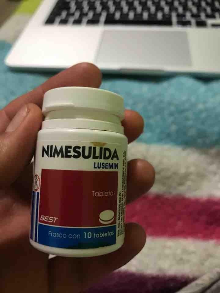 Nimesulida (5 tabletas)