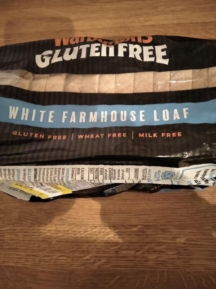 Warburtons gluten free white farmhouse loaf