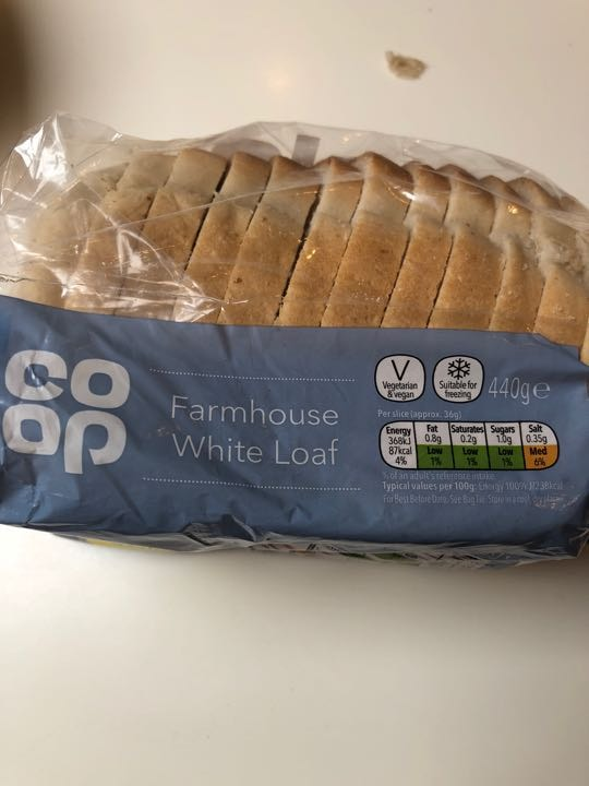 Coop white farmhouse loaf