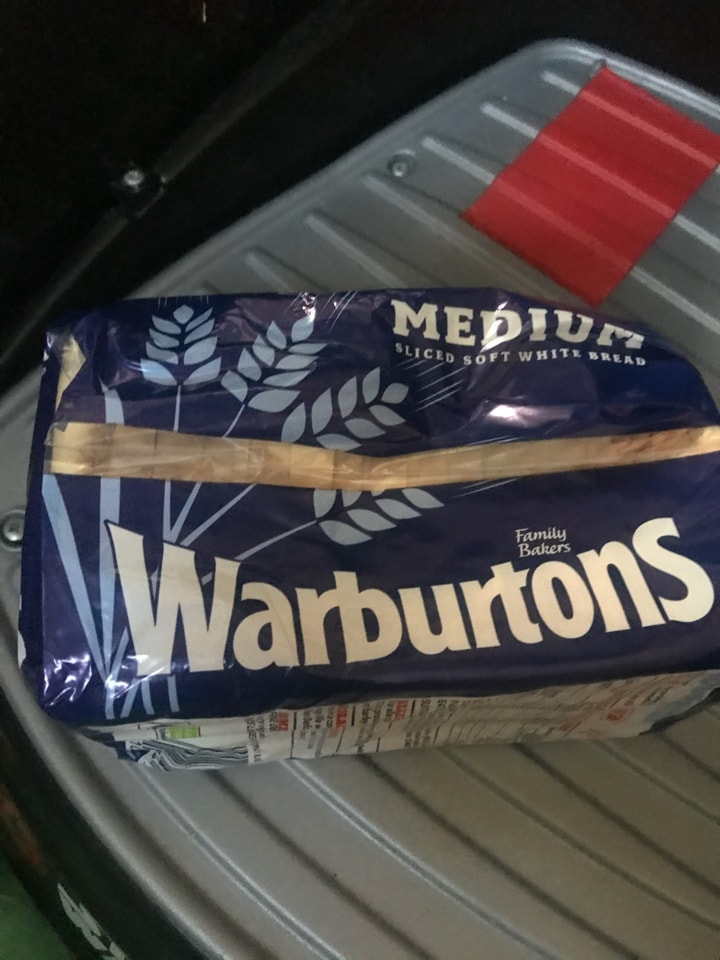 Small warburtons loaf