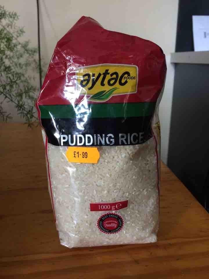 Pudding rice
