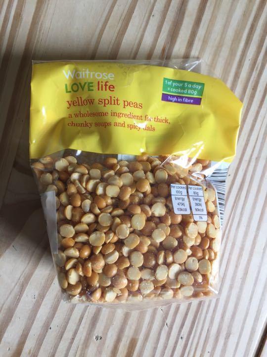 Waitrose yellow split peas