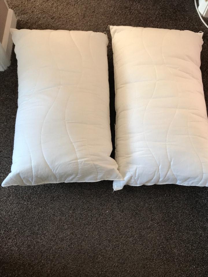 Memory foam pillows-free