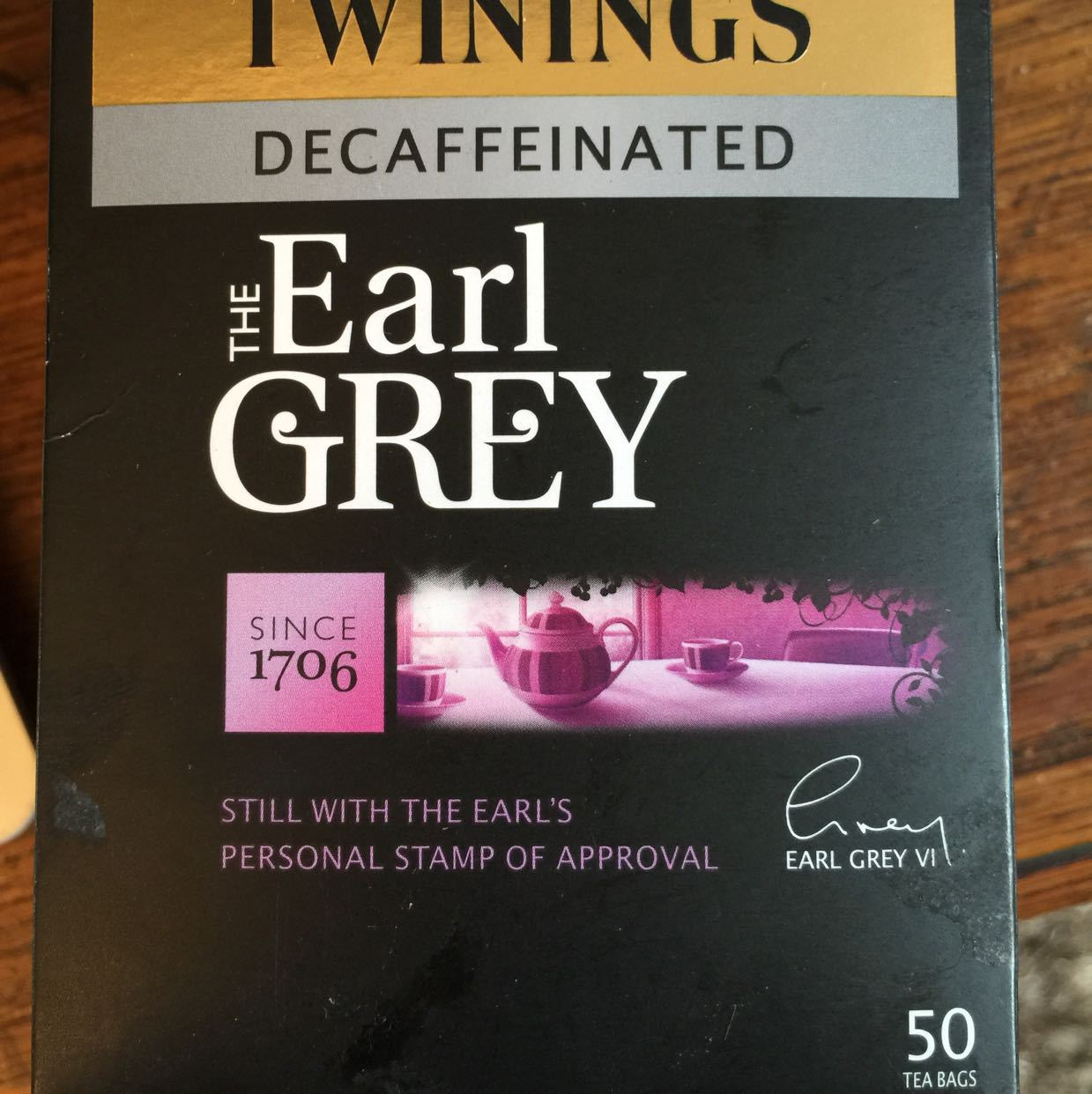 Twinings Decaff Earl Grey Tea Bags