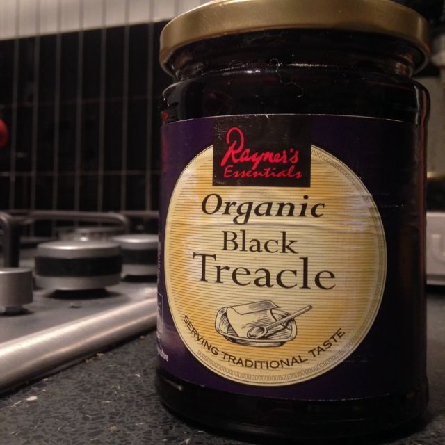 Organic black treacle