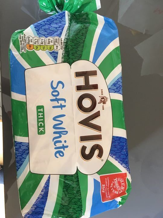 Loaf of bread hovis soft white
