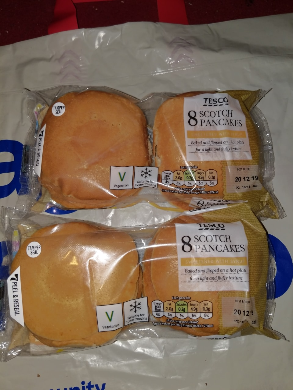 8 scotch pancakes x2