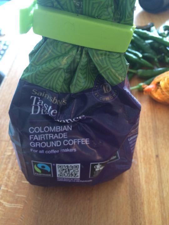 Colombian fair trade coffee