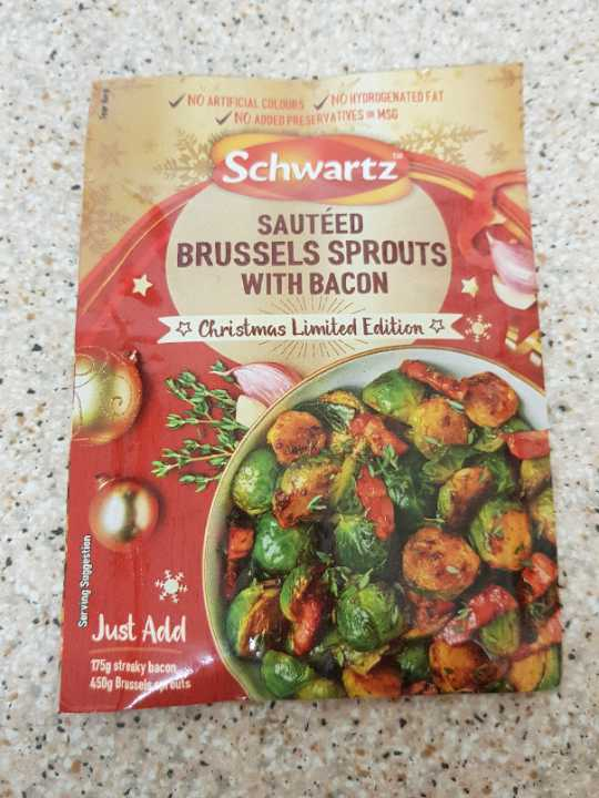 Sauteed Brussles Sprouts with Bacon