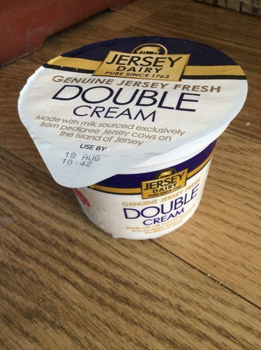 Jersey double cream