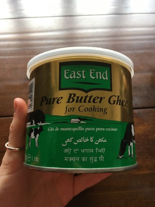 Approx 1/2 tub pure butter ghee