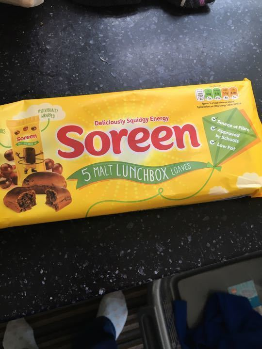 Soreen mini malt loaves