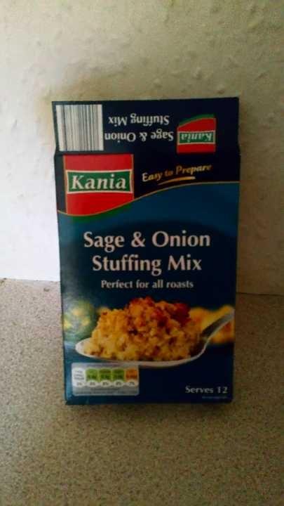 Half box Stuffing mix